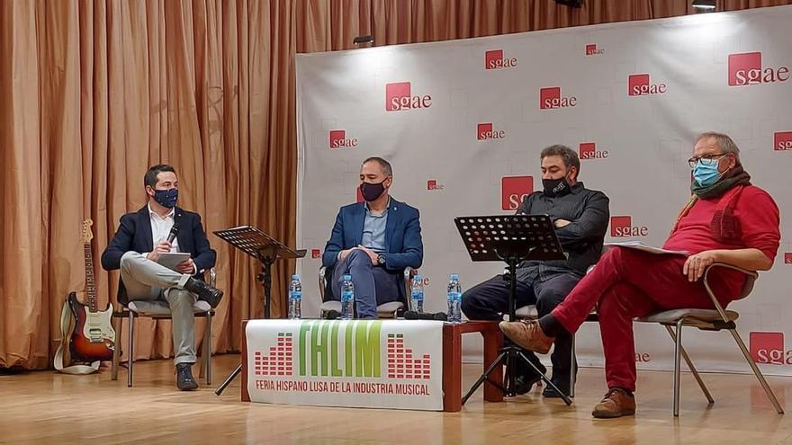 La Feria Hispanolusa de la Industria Musical de Zamora, presentada en la SGAE
