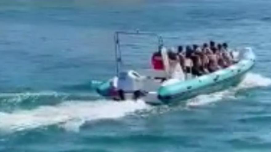 Llegada de migrantes a Fuerteventura (03/09/21)