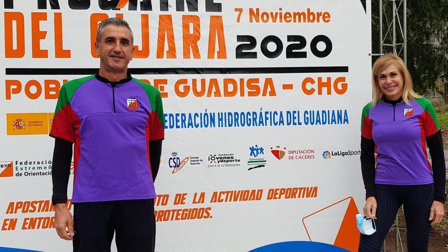 Los zamoranos Daniel Simón y Malen Blanco, campeones de España 2020 en Carreras de Orientación