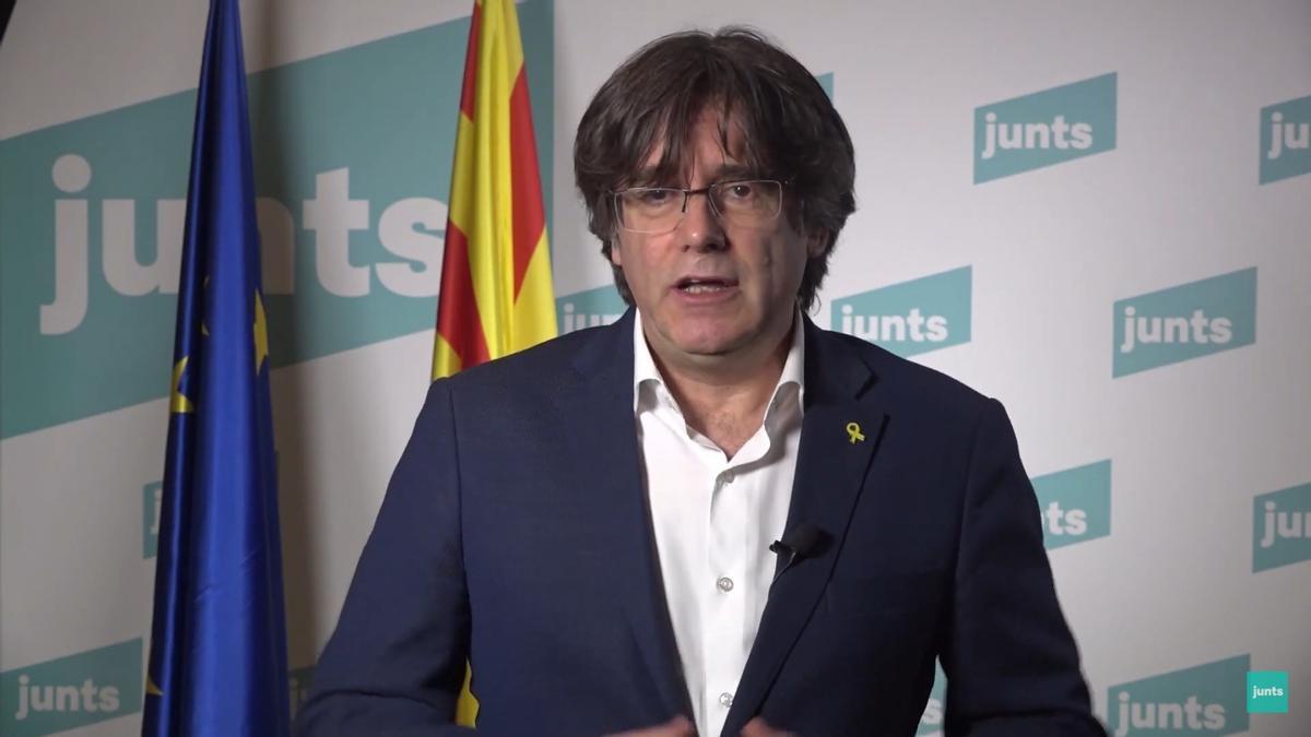 El expresidente de la Generalitat, Carles Puigdemont.