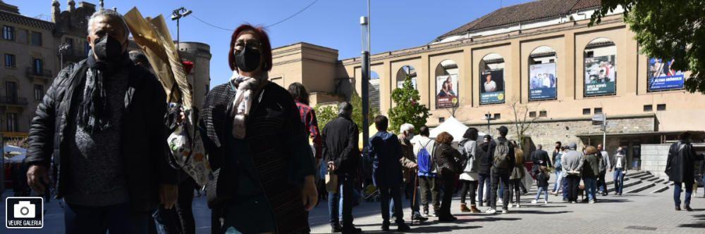 Cues per accedir a l'espai habilitat de Sant Jordi a Manresa