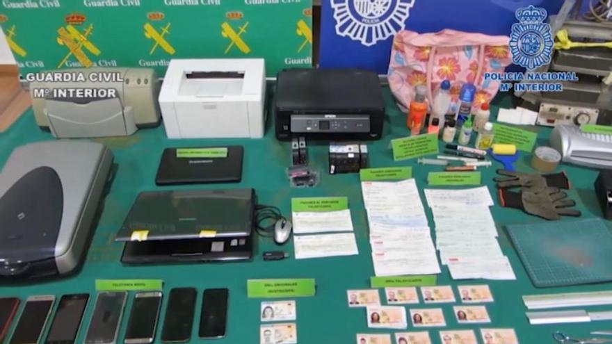 Cae una red especializada en falsificación de cheques que actuó en la Región