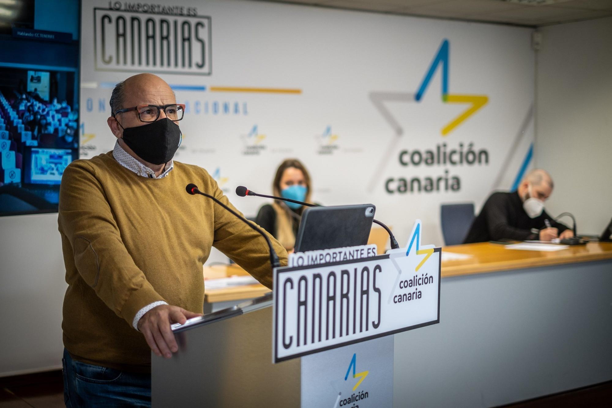 Primera jornada del VII Congreso Nacional de Coalición Canaria (CC)