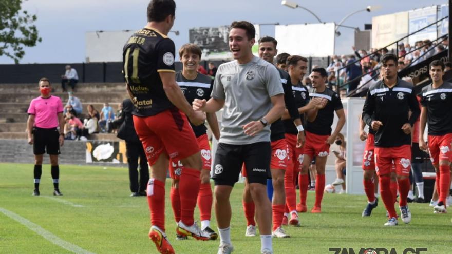 El Zamora CF suma su primer triunfo ante el Tudelano