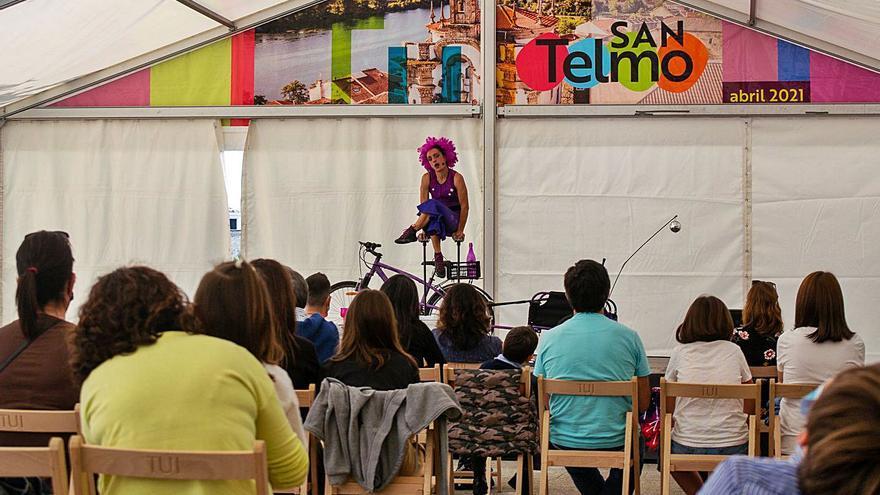 Teatro, maxia, cine e moita música para celebrar o San Telmo en Tui