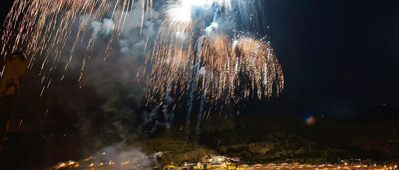 Fuegos de San Lorenzo en 2019.
