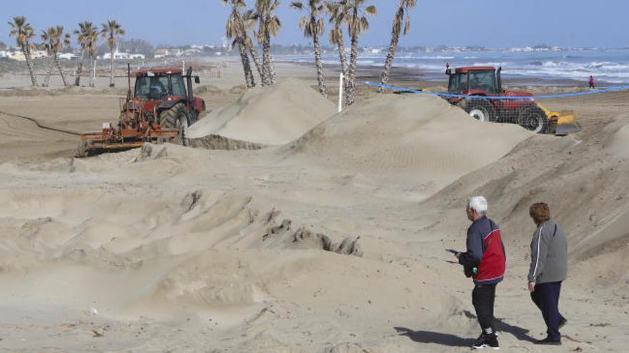 Canet volverá a pedir a Costas la arena dragada en Puerto Siles