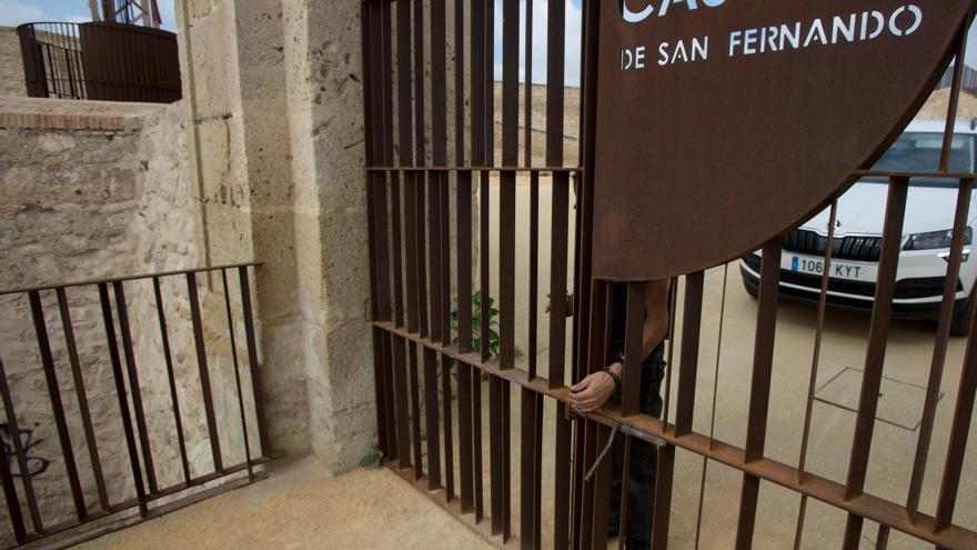 La oposición critica al bipartito por la gestión del castillo de San Fernando