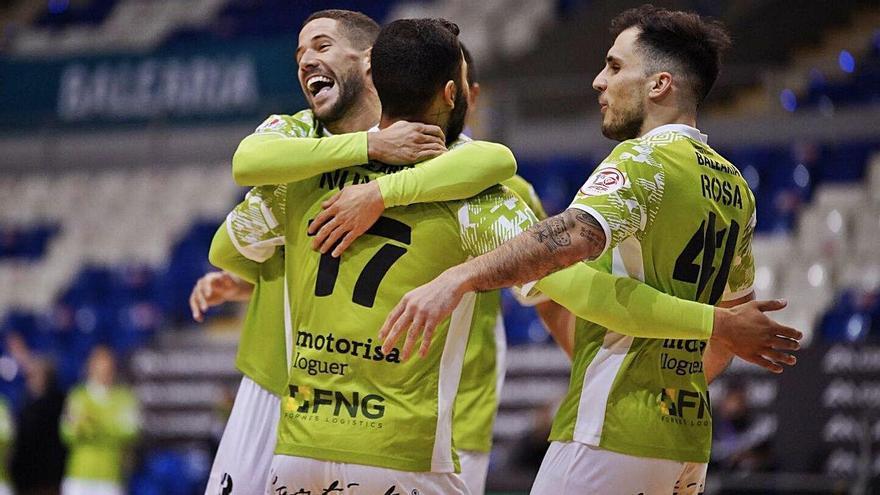 El Palma Futsal pasa el rodillo frente al Burela