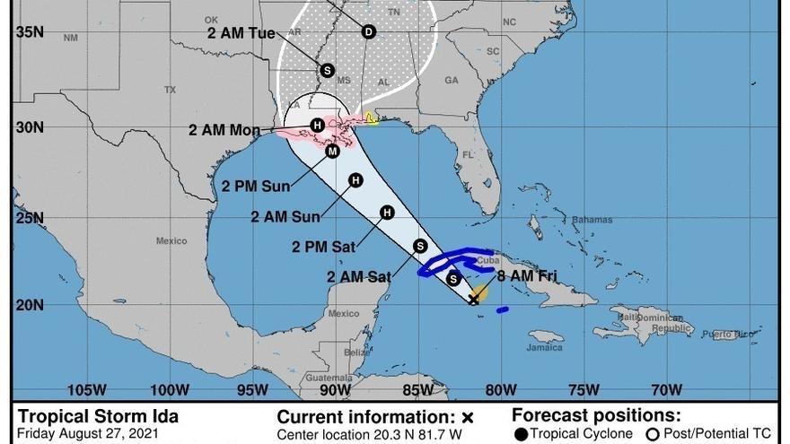 El huracán Ida vuelve a tocar tierra en Cuba
