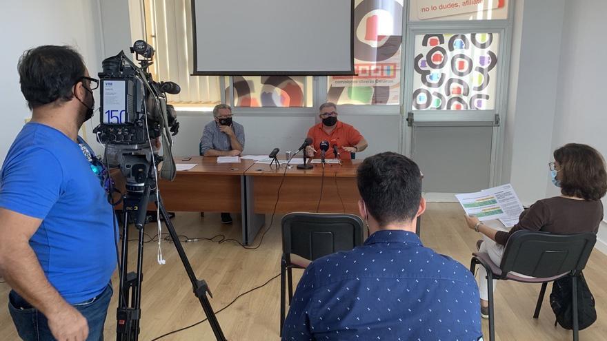 CCOO Canarias exige la prórroga del profesorado de refuerzo covid hasta fin de curso