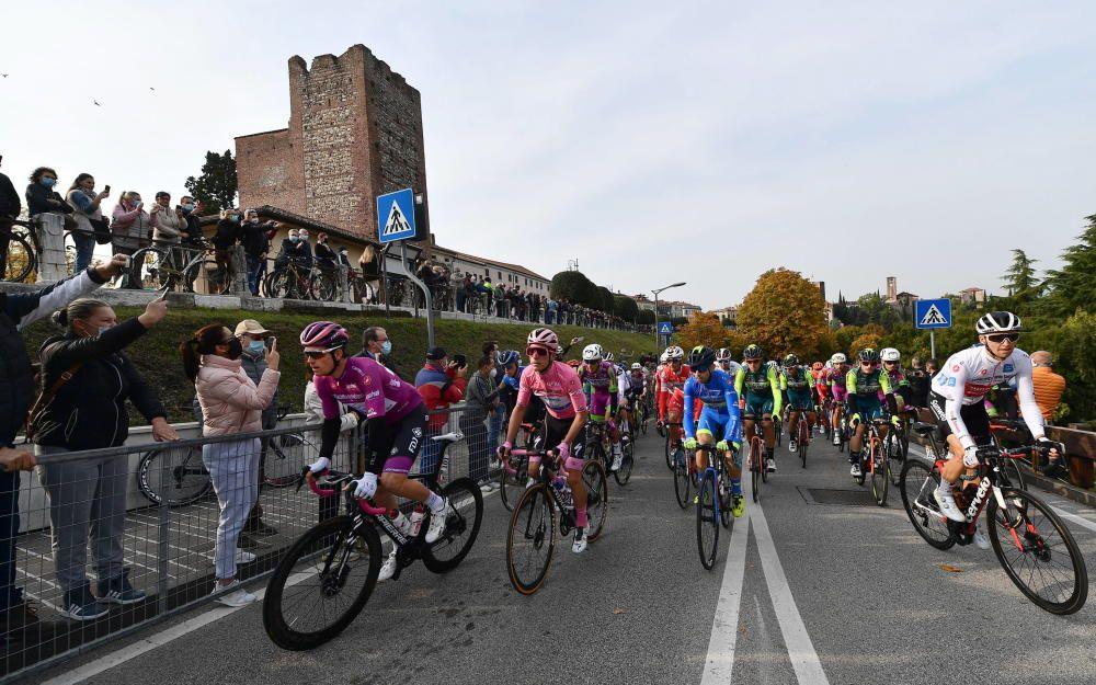 Las imágenes de la 17ª etapa del Giro de Italia