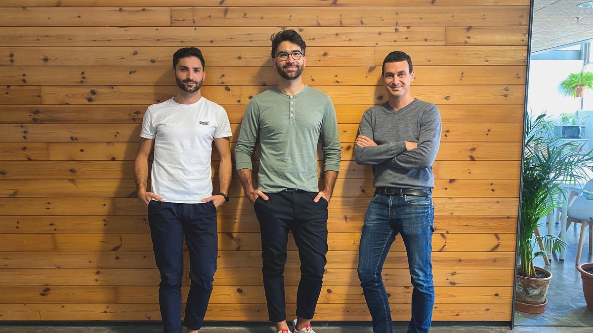 Los fundadores de la startup.