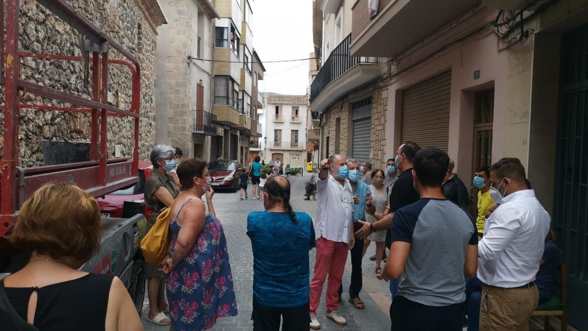 Cultura cede al obispado la decisión sobre la obra de la iglesia de Artana