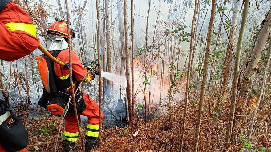 Nueve concejos asturianos en riesgo alto por incendios