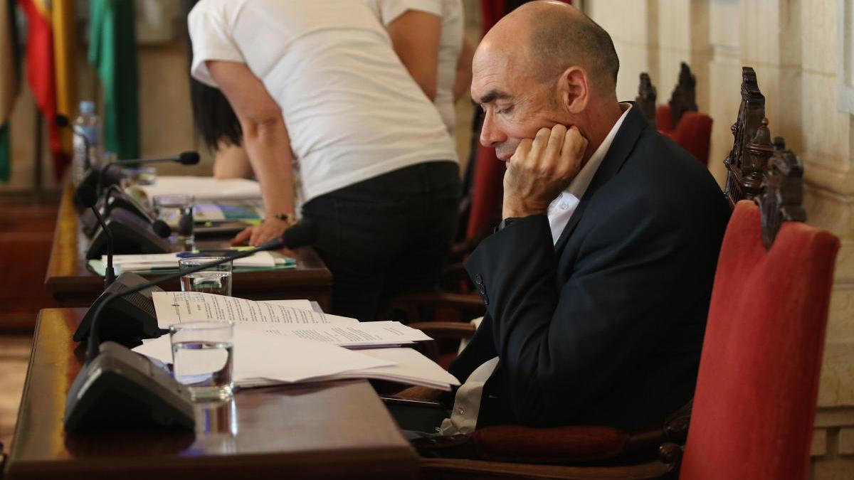 Eduardo Zorrilla, portavoz de Adelante.