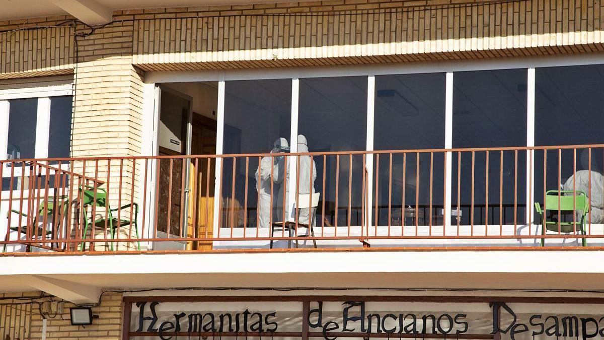Visita de prevención de riesgos laborales a la residencia de Caravaca
