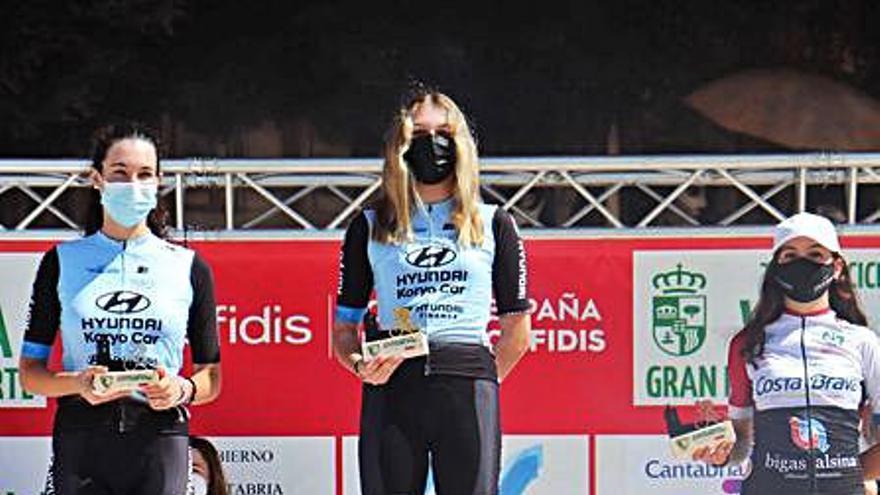 Alejandra Puente triunfa en la Copa de España de ciclismo