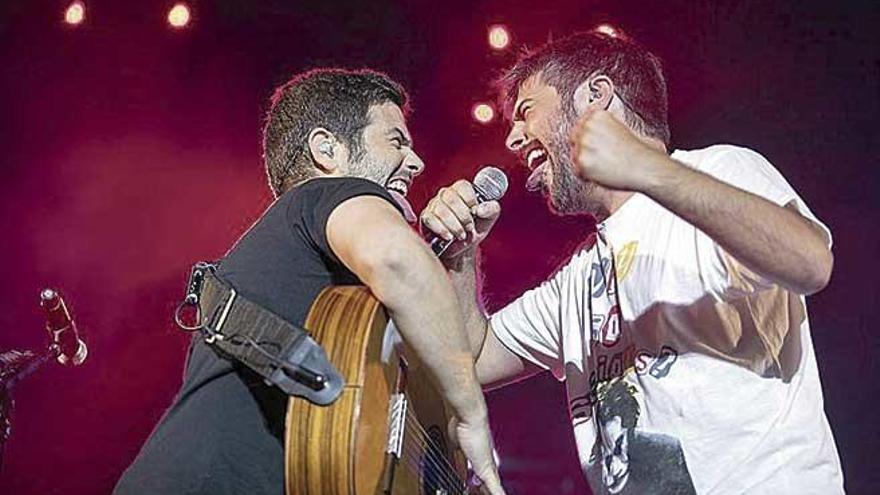 Bisbal y Estopa, que actuará en Palma, mueven a 2021 sus giras nacionales