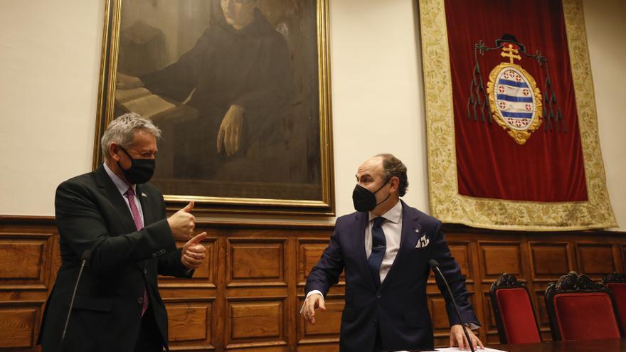 Ignacio Villaverde apuesta por una Universidad que sea potencia transformadora de Asturias