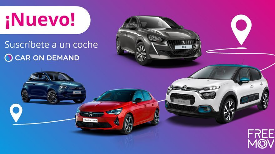 Car On Demand, el servicio flexible de alquiler de coches de Free2Move llega a España
