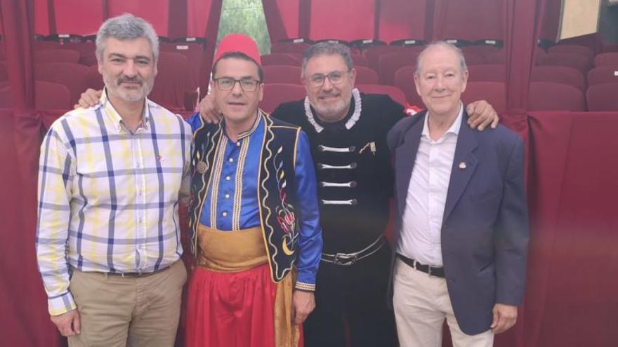 Los presidentes de las fiestas se unen por el 75 aniversario