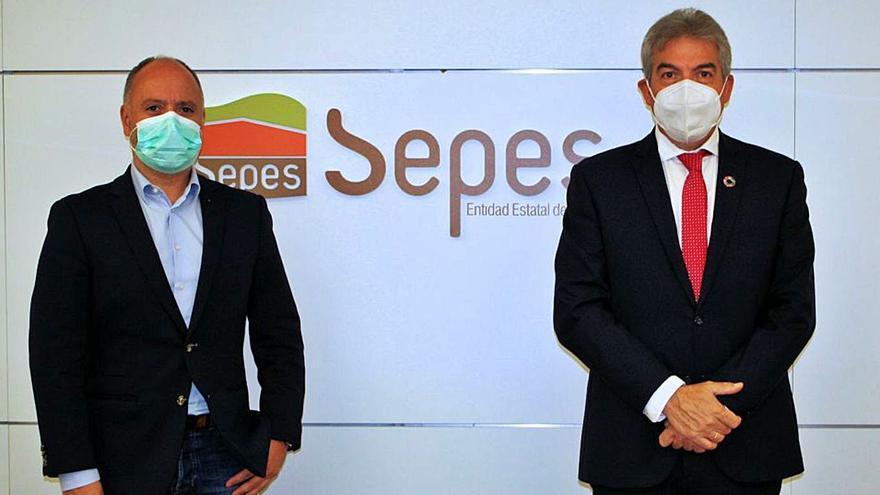Zona Franca y Sepes se alían para el desarrollo de suelo industrial en Galicia