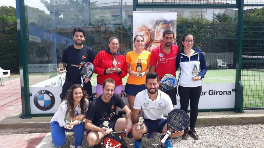 Curto i Faxedas, de l'Indoor Figueres, s'emporten el Circuit Bronze de Roses