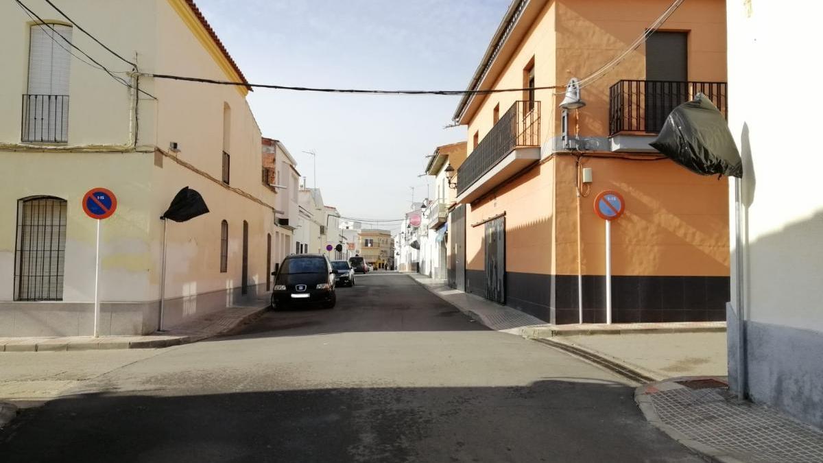 El Ayuntamiento de Peñarroya reordena el tráfico en la zona centro del pueblo