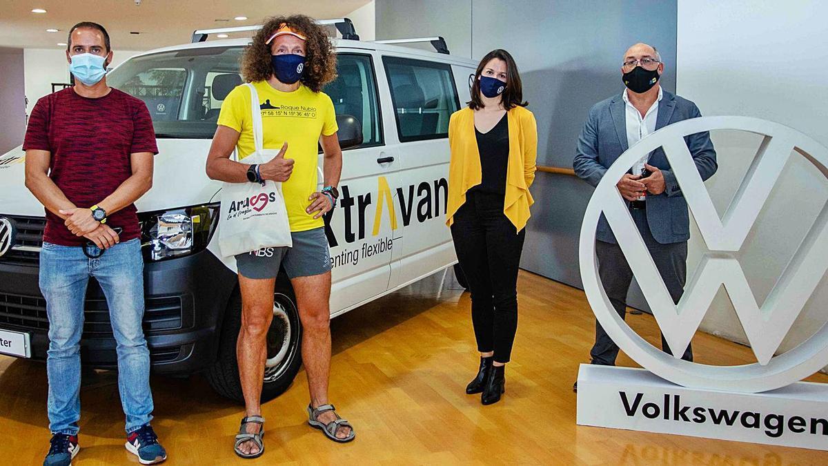 El último reto de Luca Papi cuenta con el motor de Xtravans y Volkswagen
