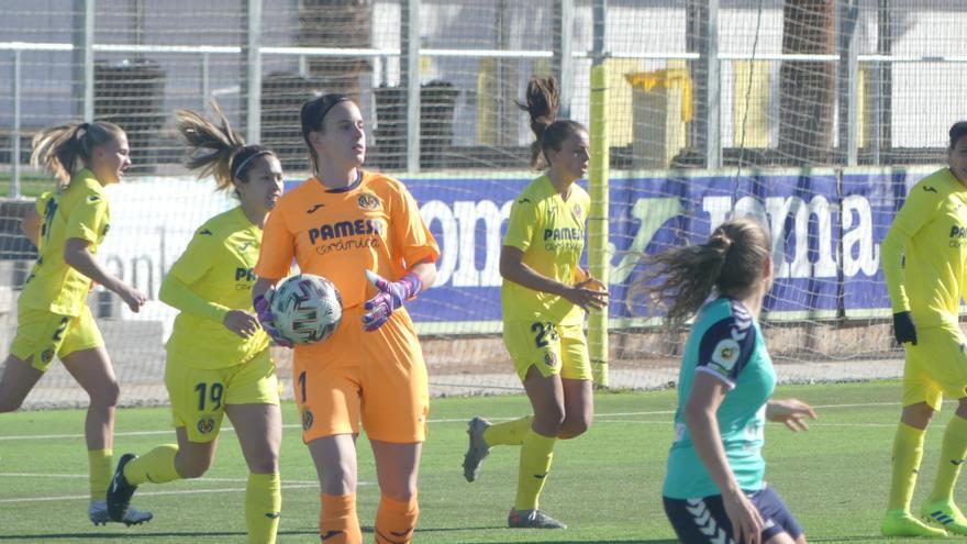 El Villarreal femenino, camino de Primera División con el cerrojo en la portería