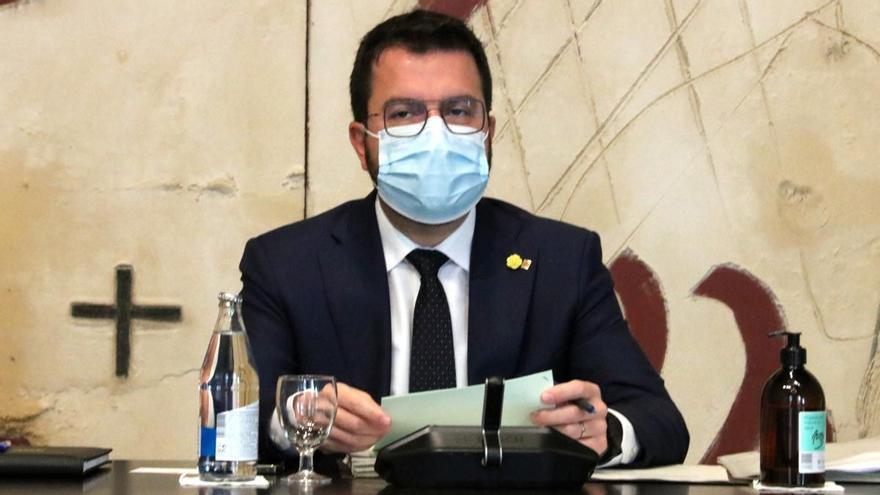 """Aragonès comparecerá en el Parlament para posicionarse sobre la """"desjudialización"""" del conflicto"""