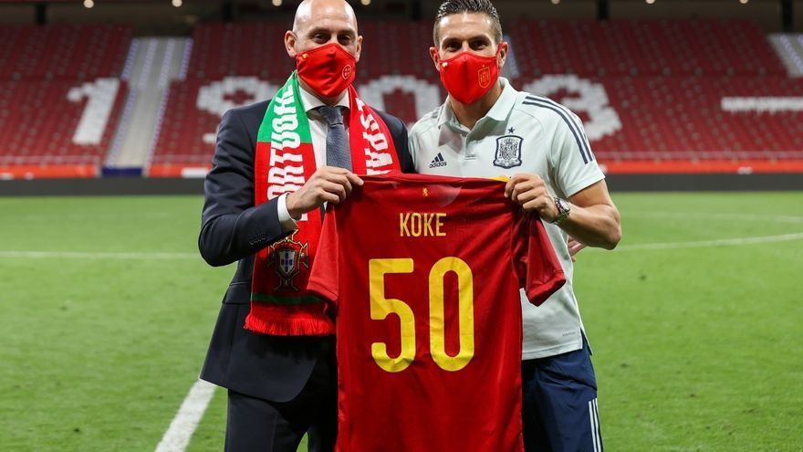 """Koke: """"Tengo en la cabeza que podemos hacer algo bonito en la Eurocopa y ser campeones"""""""