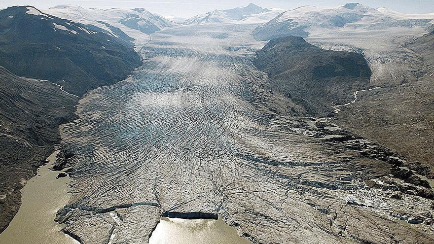Les glaceres moren per l'escalfament global