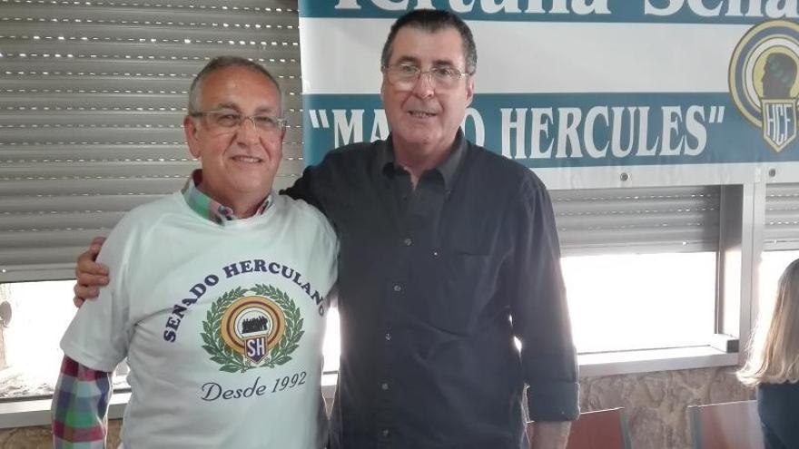 Paco González, homenajeado por el Senado Herculano