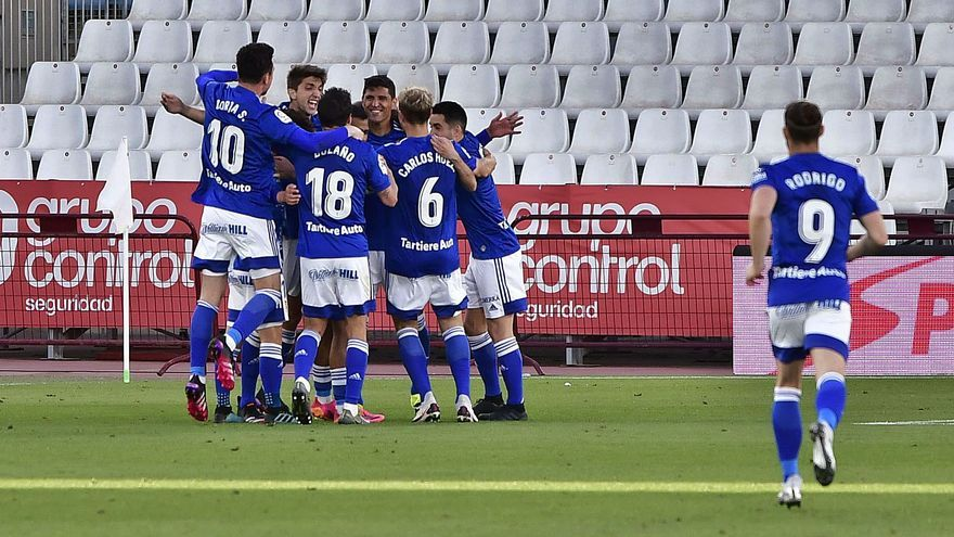 El Oviedo saca el carácter: análisis del momento azul y sensaciones de la plantilla