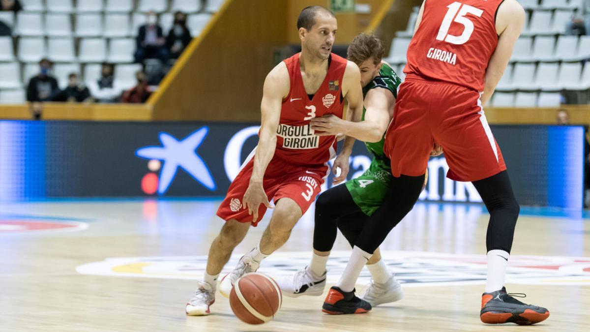 El Bàsquet Girona perd a Fontajau contra el Càceres