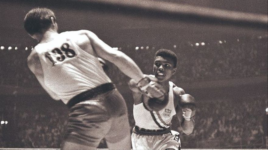 Héroes olímpicos: Cassius Clay