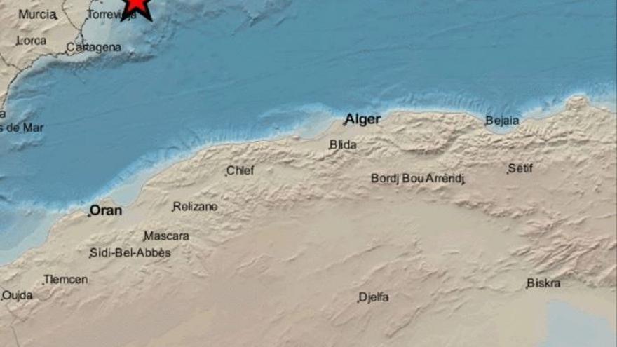 Terremoto de dos grados en Cabo de Palos esta madrugada