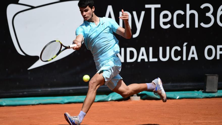 Carlos Alcaraz se medirá a Feliciano en el ATP de Andalucía