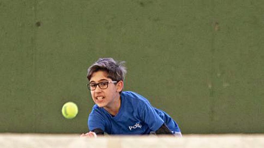 El Trofeo de Reyes de Tenis acelera en la Ciudad Deportiva y ya conoce a sus primeros finalistas