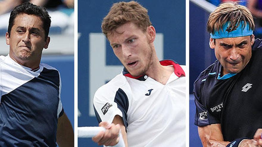 Carreño avanza en el US Open y Ferrer y Almagro se despiden