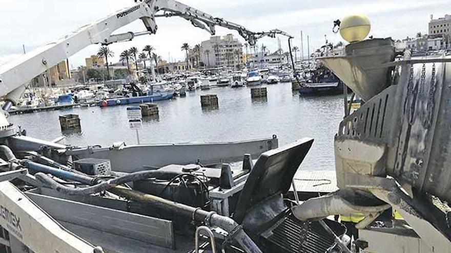 Hafenbehörde erneuert Stege in Portixol