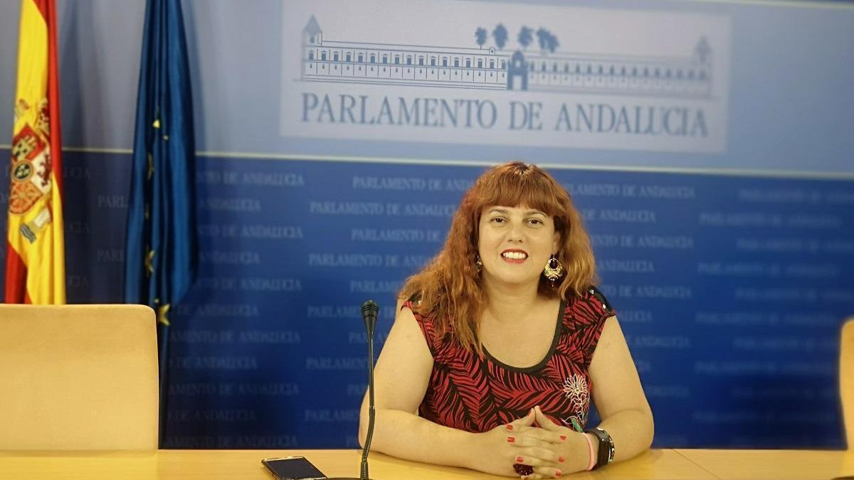 La parlamentaria andaluza Vanessa García.