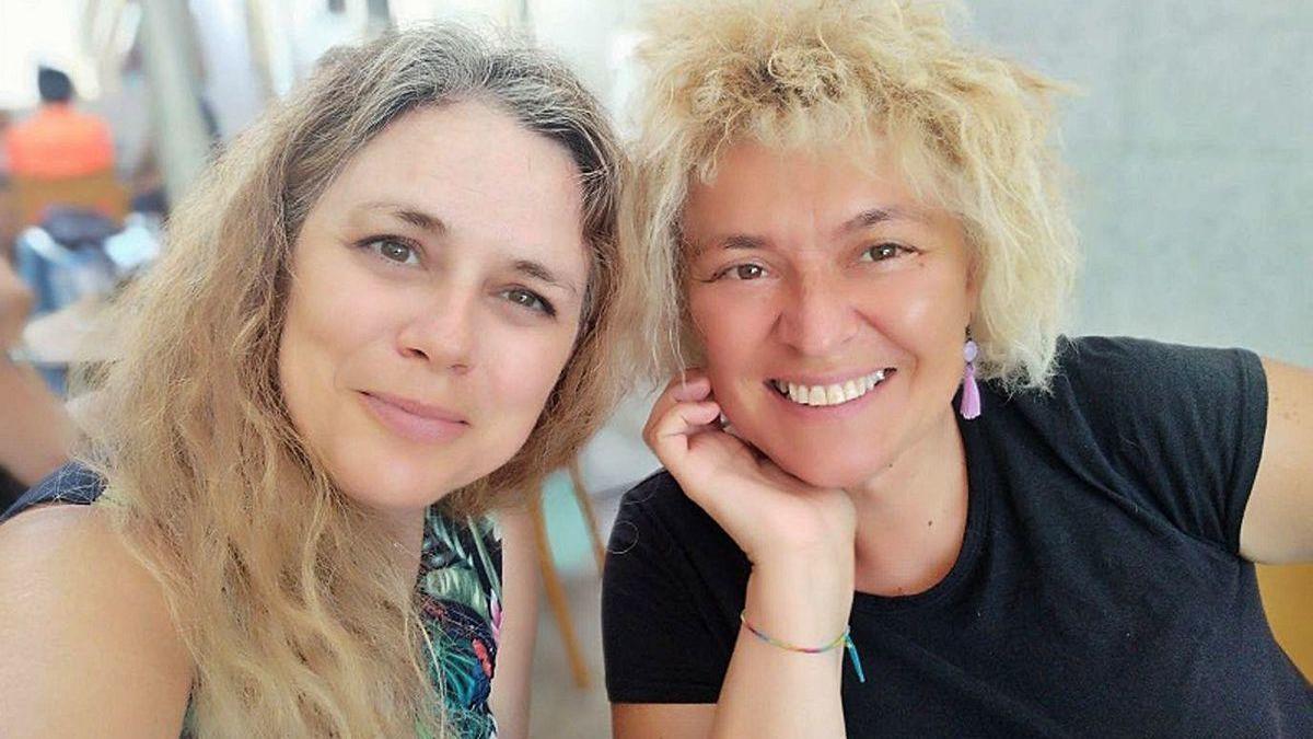 Luz Beloso y Mª J. Soto. // FdV