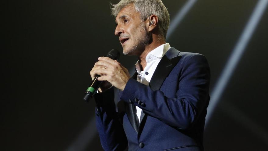 Sergio Dalma aplaza su concierto en A Coruña