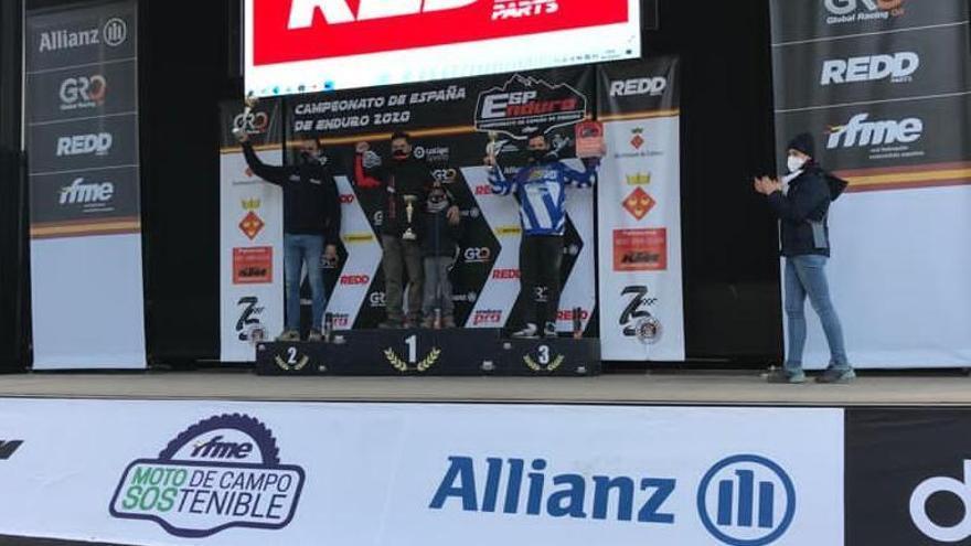 Carlos Moreiras gana el Campeonato de España de Enduro