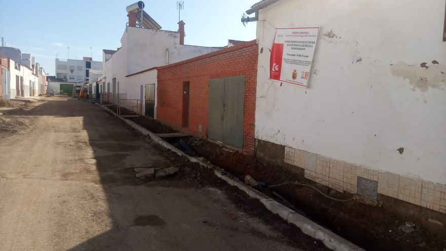 Finalizadas las obras en la avenida José Simón de Lillo de Peñarroya-Pueblonuevo