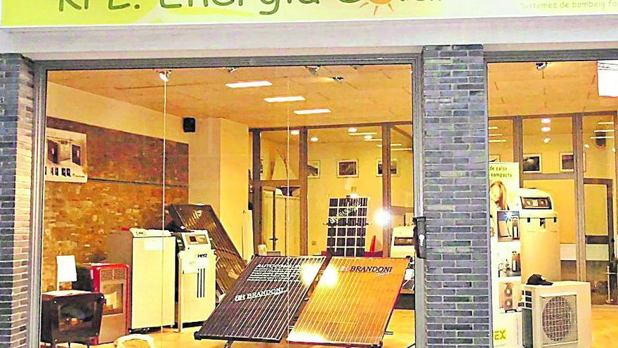 L'aerotèrmia instal·lada per KPL. Energia Solar afavoreix l'estalvi energètic