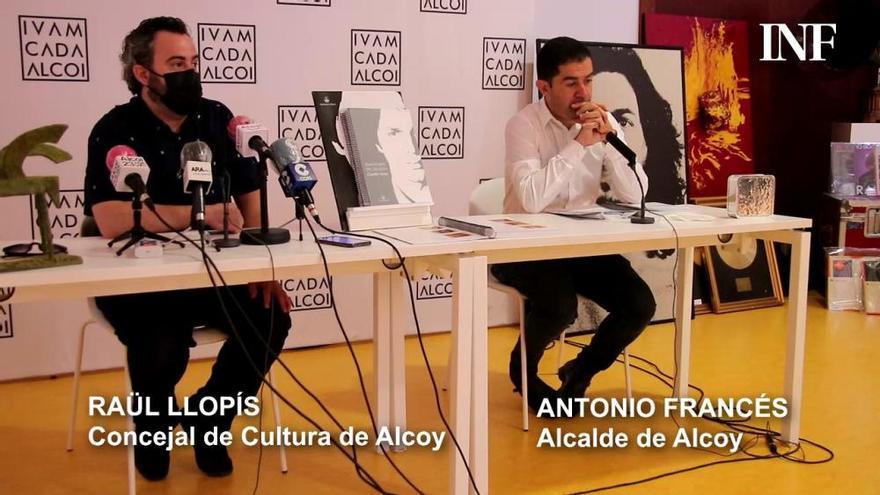 Alcoy recibe el legado de Camilo Sesto para el museo que le dedicará al cantante
